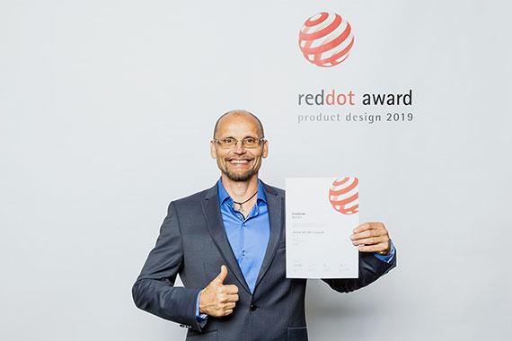 Julius Sebo - Red Dot Award